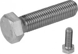 Vis tête hexagonale entièrement filetée ISO 4017 M22 X 2.50 X 40mm inox 316L80 BUMAX 88®