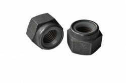 Ecrou hexagonal autofreiné à anneau non métallique ISO 7040 inox A4L80 316L