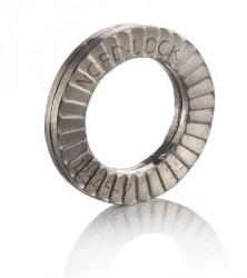 Rondelle de blocage (paire de ) SERIE LARGE 27mm inox AISI 316L  NORD-LOCK®