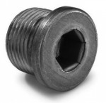 Bouchon de vidange tête cylindrique DIN 908 M10 X 1.00 acier cl.5.8 brut