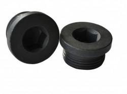 Bouchon de vidange tête cylindrique avec joint DIN 13 M10 X100 acier cl.5.8 brut