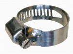 Collier de serrage à bande ajourée largeur 14mm Ø32 à 52mm inox 304