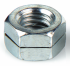 Ecrou hexagonal autofreiné tout métal avec fente H100 NFE 25411 M12 X 1.75 R80 zinc Ecotri® + corrosil 480hBS