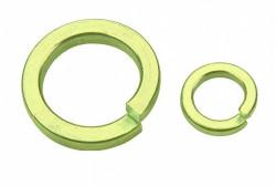 Rondelle Grower série courante symbole W DIN 127B acier ressort zingué Ecotri®
