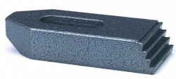 Bride droite pr cale crénelée n°6314Z 18mm X 200mm  acier