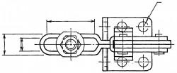 Sauterelle tirée à poignée verticale série haute SF - UF
