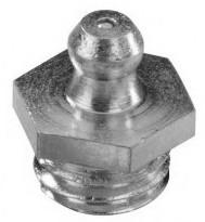 Graisseur genre «hydraulic» droit DIN 71412 M8 X 1.25 inox 303 + bille inox 301