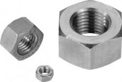 Ecrou hexagonal HU ISO 4032 M6 X 1.00 inox 316L Mo+80 KG BUMAX 88®