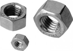 Ecrou hexagonal ANSI B.18.2 1/2NC - 13 filets inox 316L 80 BUMAX 88®