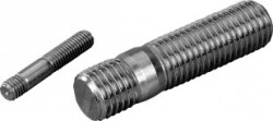 Goujon   DIN 938  16mm X 45mm inox 316L Mo+80 KG  BUMAX 88®