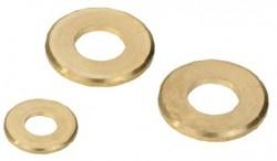 Rondelle plate_ série normale 'M' NFE 27611 6mm laiton