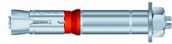 Boulon de sécurité SZ-B 24mm X 20mm X 161mm acier zingué MKT®