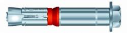 Boulon de sécurité SZ-S 24mm X 50mm X 180mm acier zingué MKT®
