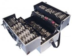 Coffret d'assortiment colliers multidimensionnels pour bande 9mm et 12mm inox 304