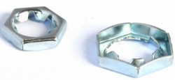 Ecrou hexagonal autofreiné tout métal
