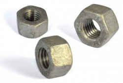 Ecrou hexagonal HH (hauts) décolleté NFE 27411  A194 Grade 2H galvanisé à chaud