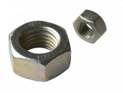 Ecrou hexagonal HU DIN 934 M20 X 2.50 acier cl.l8l zingué Ecotri®