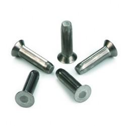 Clou cannelé ISO 8747 acier doux XC10