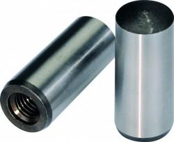 Goupille de position conique rectifiée, trempée à trou taraudé DIN 7978A 10mm X 100mm acier