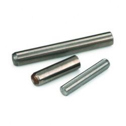 Goupille cannelée à cannelure constante sur toute la longueur , à chanfrein ISO 8740 4mm X 20mm acier S250