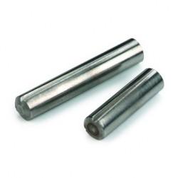 Goupille cannelée à cannelure progressive sur toute la longueur (débouchante) ISO 8744 2mm X 20mm acier S250