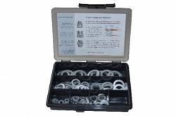 Coffret assortiment de rondelles M6 à M20 NORD-LOCK® acier DELTA-PROTEKT NL6-NL20