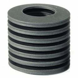 Rondelle ressort dynamique pour calage DIN 2093 40mm X 16.3mm X 2.0mm acier 50CrV4