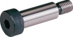 Vis tête cylindrique 6 pans creux ANSI B.18.3 gr.8 corps épaulé 1/2 3/8 NC-16 filets X 2