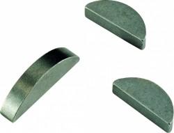 Clavette disque DIN 6888 5mm X 12.65mm X 3mm acier C45K