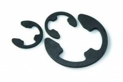 Circlips truarc «E» renforcé DIN 6799 3mm acier XC75 phosphaté