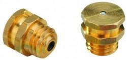 Graisseur tête plate DIN 3404 M6 X1.00 laiton