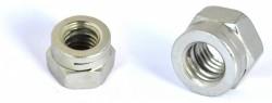 Ecrou hexagonal autofreiné tout métal avec fente H100 NFE25411 M10 X 1.50 R60 zinc Ecotri® + corrosil 480hBS
