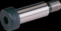 Vis tête cylindrique 6 pans creux  ISO 7379 corps épaulé 24mm M20 pas 250 X100mm cl.12.9 HOLO-KROME®