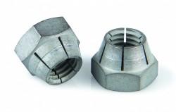 Ecrou type MHT® NFE25411 M8 X 1.25 acier cl.10 zinc nickel gris
